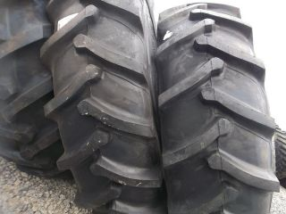 TWO 18.4x38, 18.4 38 FORD JOHN DEERE Farm Tractor Tires 8 Ply