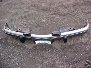 1989 700 R 4 front bumper chevy truck parts chrome