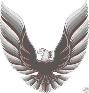 Trans Am Eagle Color Hood Decal SMALL #3 27 X 26