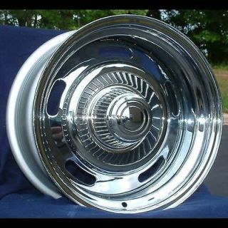 15 7&8 Chevy Monte Carlo Chrome Rally Wheels 1969 77