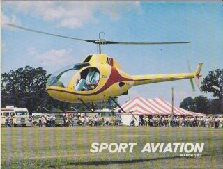 Sport Aviation Magazine (March 1981) Rotorways Exec 2 place
