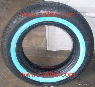 80 13 1.00 Tornel Classic 79S Buffed Wide White Wall Tires 155/80/13