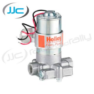 Holley Black Fuel Pump V8 Carb Race High Flow 140GPH Free Flow 120GPH