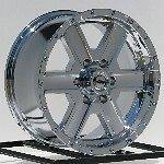 16 Inch Chrome Wheels Rims Chevy Truck Silverado Tahoe GMC Sierra 6 5