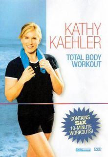 Kathy Kaehler Total Body Workout 6 Ten Minute Workouts DVD, 2009