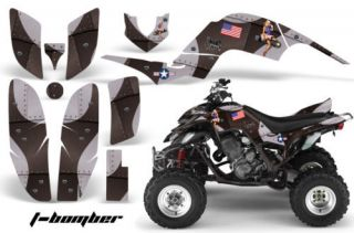 ATV QUAD GRAPHIC STICKER KIT YAMAHA RAPTOR 660 PART FREE US SHIPPING
