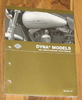 2007 Harley Davidson Dyna Parts Catalog Manual_NEW_FXD/FSDC/FXDL/FSDWG