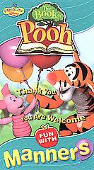 Book of Pooh, The Fun With Manners VHS, 2002