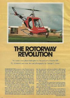 1997 Rotorway Helicopter report 4/3/12