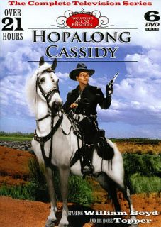 Hopalong Cassidy The Complete Television Series DVD, 2011, 6 Disc Set