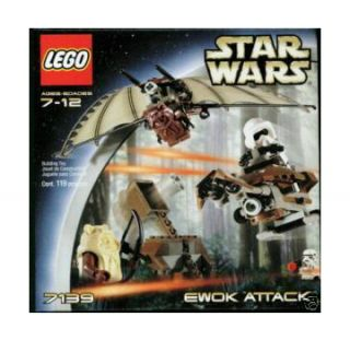 Lego Star Wars Episode IV VI Ewok Attack 7139