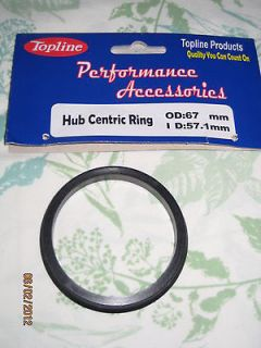 Metal Hubcentric Hub Centric Rings Ring Set Aftermarket Wheels Rims