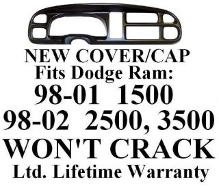 Dodge Ram Dash Bezel Cover cap dashboard board instrument gauge trim