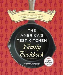 Americas Test Kitchen Family Cookbook by Americas Test Kitchen