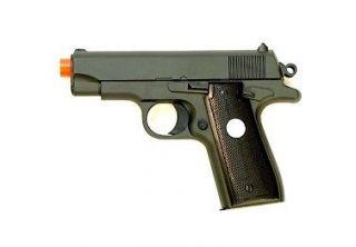 NEW Airsoft Pistol COMPACT .380 METAL FRAME Spring Gun