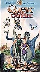 Quest For Camelot VHS, 2000, Cassette Toys R Us