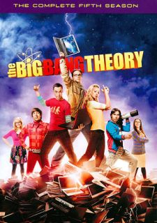 The Big Bang Theory The Complete Fifth Season DVD, 2012, 3 Disc Set