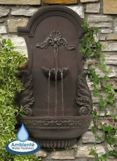 Angel Wings Wall Water Fountain Yard Feature Indoor Outdoor Decoration