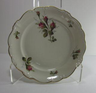 Vintage Rosenthal Selb Germany Pompadour Moss Rose   Salad Plate