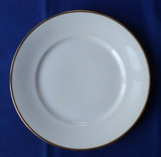 ROSENTHAL SELB BAVARIA AIDA 1473 WHITE WITH GOLD TRIM 9 7/8 inch
