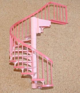 Lego SCALA Dolls House pink Spiral stairs Complete
