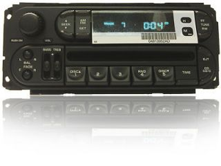 01 Dodge Dakota Neon Chrysler Sebring Jeep Cherokee Radio CD Player