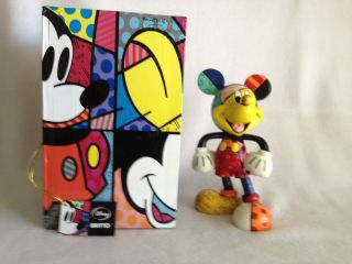 Disney Britto Mickey Mouse Figurine, 8 Mickey by Britto # 4019372 by