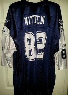 NEW W/TAGS Mens NFL Dallas Cowboys Jason Witten Jersey SZ 5XL NAVY