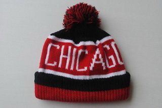 NEW NBA CHICAGO BULLS KNIT BEANIE WINTER hat CAP OSFA B623