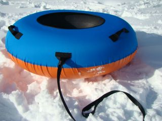 Huge Inner Tube Snow Tube Combo Sled Sledding Snow Tubing Clear Creek