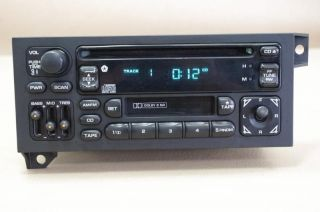 CHRYSLER GRAND CHEROKEE DODGE DURANGO CARAVAN RADIO W TAPE CD PLAYER