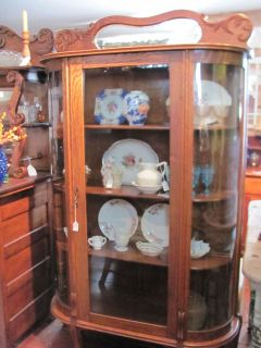 antique glass china cabinets
