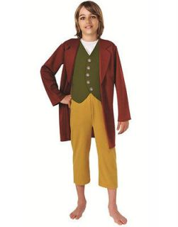 Childs The Hobbit Lord of the Rings Bilbo Baggins Costume Large 12 14
