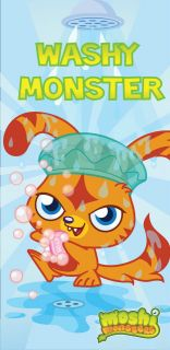 MOSHI MONSTERS TOWEL NEW Beach Bath Towel new and sealed official