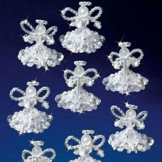 Crystal Angels Beaded Christmas Ornament Kit The Beadery 5538