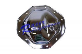 Chrome Steel Dodge Ram 1500 Differential Cover 9 1/2 Ring Gear 12