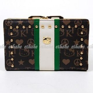 Newly listed Hello Kitty Wallet Card Holder Coin Purse Black SEBP