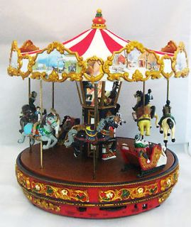 MR. CHRISTMAS GOLD LABEL ~ THE CAROUSEL ~ MUSIC BOX 79178 NEW IN BOX
