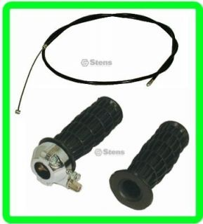 CABLE & 7/8 DELUXE TWIST GRIPS for MINI BIKE MINIBIKE CHOPPER