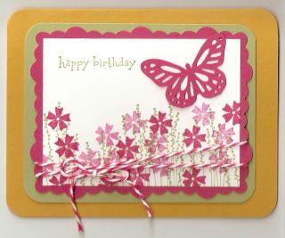 Stampin Up Happy Birthday Card Kit