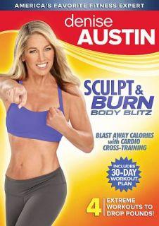 Denise Austin Sculpt Burn Body Blitz DVD, 2011