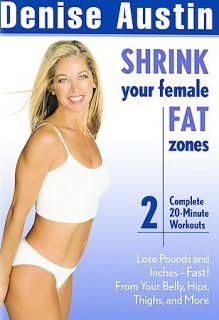 Denise Austin   Shrink Your Female Fat Zones DVD, 2003