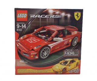 Lego Racers Ferrari F430 Challenge 117 8143