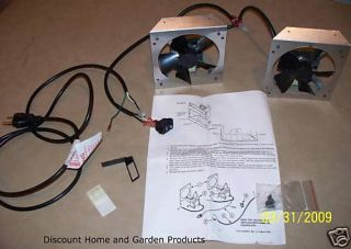 Monessen Circulating Wood Fireplace Blower Fan Kit FA2A of FA2