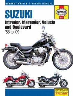 Suzuki Intruder, Marauder, Volusia and Boulevard 85 To 09 by Max