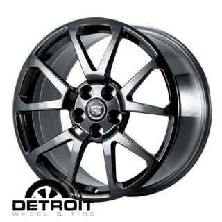 CADILLAC CTS,STS 2009 2011 PVD Black Chrome Wheels Rims Factory