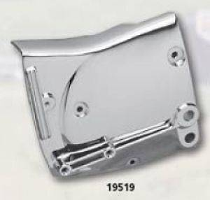 CHROME SPROCKET SIDE COVER FOR HARLEY SPORTSTER 82 90 REPLACES OEM