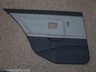 BMW E36 328i 325i 318i M3 Door Panel Rear Left Grey