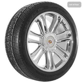 20 2012 Cadillac 2012 Escalade platinum edition chrome wheels rims