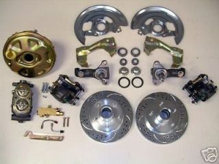 Chevy GM A F Body Power High Performance Disc Brake Conversion Kit 9